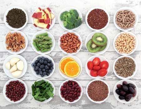 La fibra en los alimentos
