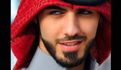 Omar Borkan Al Gala el hombre más guapo del mundo