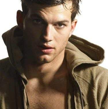 Ashton Kutcher guapo
