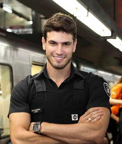Guilherme Leao guardia de seguridad