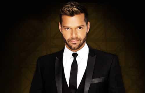 Ricky Martin el más guapo