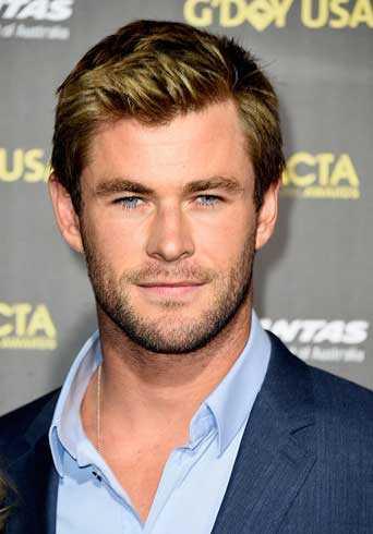 Chris Hemsworth portada