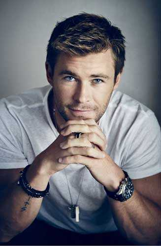 Chris Hemsworth guapo