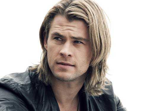 Chris Hemsworth cabello largo