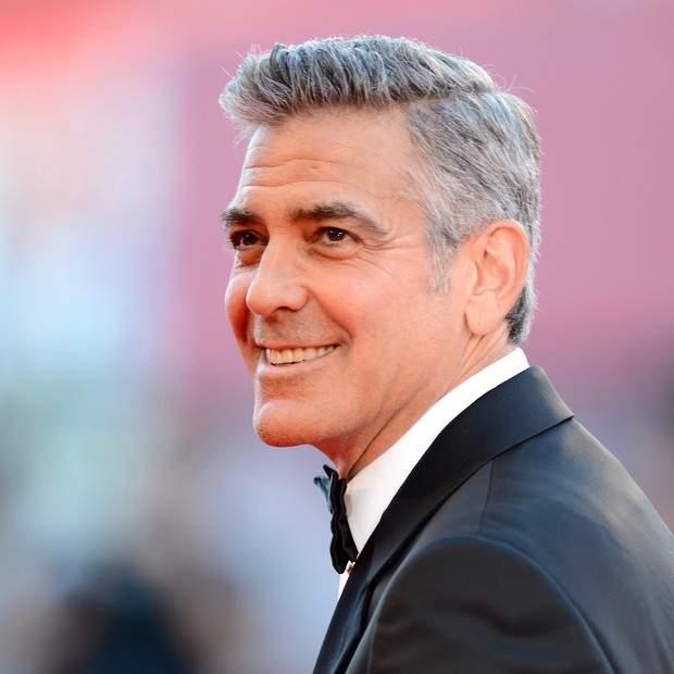 George Clooney hombre mas guapo segun la ciencia