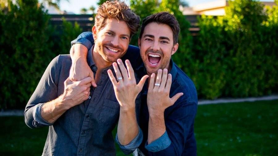 Jonathan Bennett y Jaymes Vaughan comprometidos